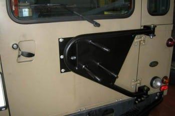 Schwenkbarer Reserveradträger – Defender