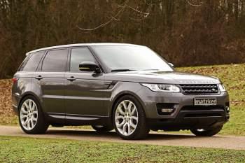 Leichtmetall-Spurverbreiterung – Range Rover Sport