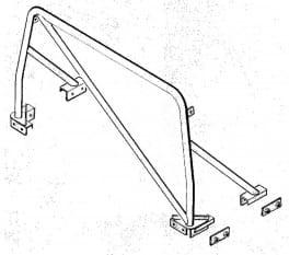 Überrollbügel – Defender 90/110 Soft Top
