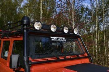 Hella-Dachscheinwerfer, Luminator – Defender