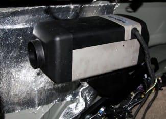 Standheizung Luftheizgerät – Discovery 3 und 4