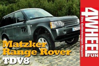 4WEEL FUN Sonderdruck: Range Rover TDV8 von Matzker