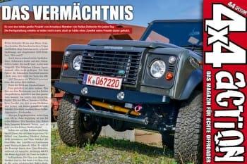 4x4 ACTION: Land Rover Defender 90 V8 Matzker md5r
