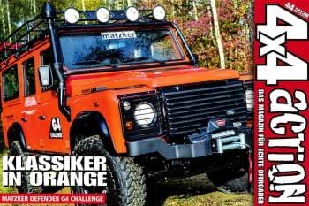 4x4 ACTION Sonderdruck: Klassiker in Orange