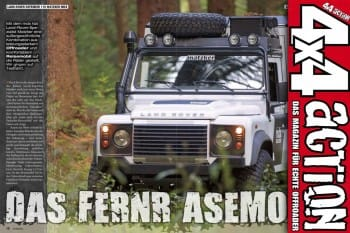 4x4 Action: Das Fernrasermobil