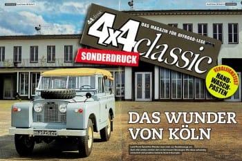 4x4 CLASSIC Sonderdruck: In neuem Glanz