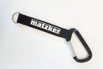 Matzker-Schlüsselanhänger mit Karabinerhaken