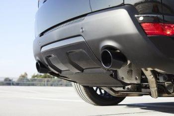 Carbon-Heckdiffusor – Range Rover Sport