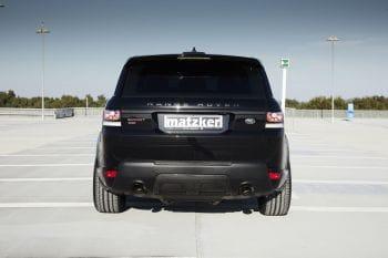 Endrohrblenden, Ultimate Black, Ø 100 mm – Range Rover Sport