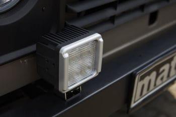 LED-Arbeitsscheinwerfer, Frontstoßfänger – Defender