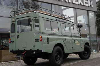Land Rover 109 Serie 2 Station Wagon