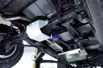Edelstahl-Abgasanlage – Defender