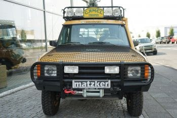Land Rover Discovery Tdi 200 Camel Trophy 94