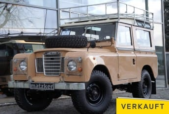 Land Rover 88 Series III Station Wagon Expedition