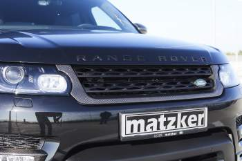 Carbon-Frontgrill – Range Rover Sport