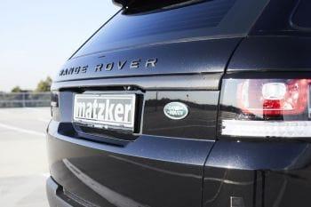 Carbon-Zierleiste Heckdeckel – Range Rover Sport