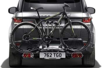 Fahrrad-Heckträger für drei Fahrräder