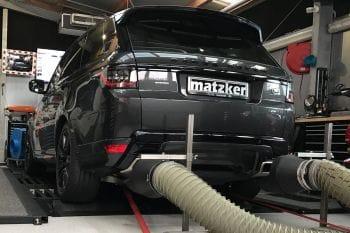 Leistungssteigerung TR6 – Range Rover Sport SDV6