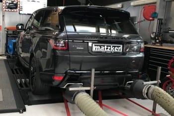 Leistungssteigerung TR8 – Range Rover Sport SDV8