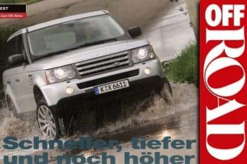 OFF ROAD Sonderdruck: Range Rover Sport TDV6 von Matzker