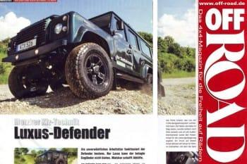 Off Road: Luxus Defender