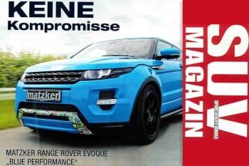SUV MAGAZINE Sonderdruck: Blue Performance von Matzker